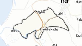 Mapa / Levan