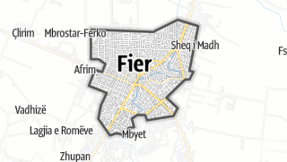 Mapa / Fier