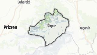 Mapa / Štrpce
