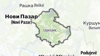 Hartă / Leposaviq