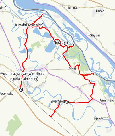 Kerékpártúra vadvízországban