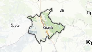 Mapa / Kacanik
