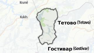 מפה / Dragash