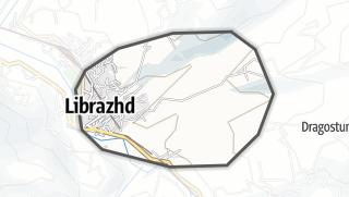 Map / Librazhd