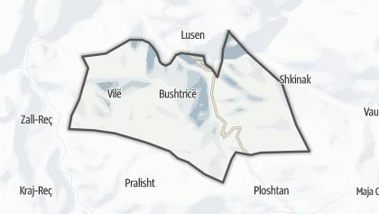 Mapa / Bushtrice