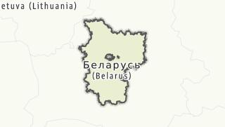 מפה / Minskaja voblasc