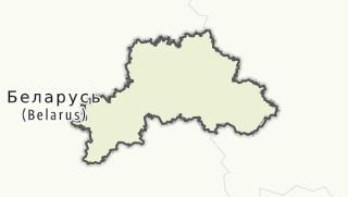 מפה / Mahiliouskaja voblasc