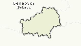 מפה / Homielskaja voblasc