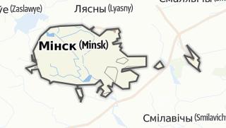 מפה / Horad Minsk