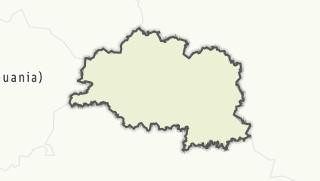 מפה / Viciebskaja voblasc