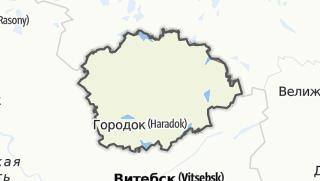 מפה / Haradok Rajon