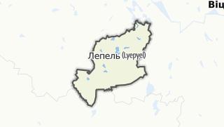 מפה / Liepiel Rajon