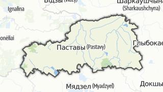 מפה / Pastavy Rajon
