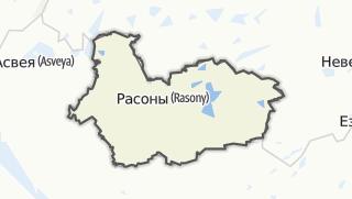 מפה / Rasony Rajon