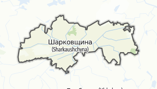 מפה / Sharkaushchyna Rajon