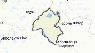 מפה / Vierchniadzvinsk Rajon