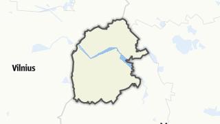 מפה / Astravyets Rajon
