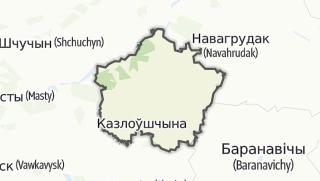 מפה / Dziatlava Rajon