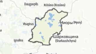 מפה / Braslau Rajon