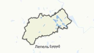 מפה / Ushachy Rajon
