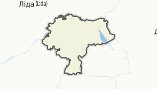 מפה / Navahrudak Rajon