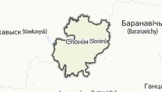 מפה / Slonim Rajon