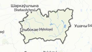 מפה / Hlybokaje Rajon