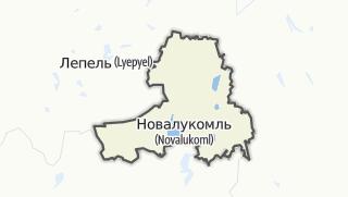מפה / Casniki Rajon