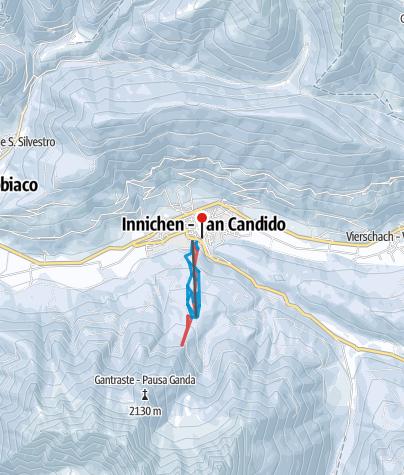 Karte / 3 Zinnen – Hochpustertal