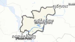 Hartă / Kampong Cham