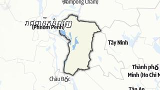 מפה / Prey Veng