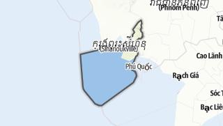 מפה / Preah Sihanouk