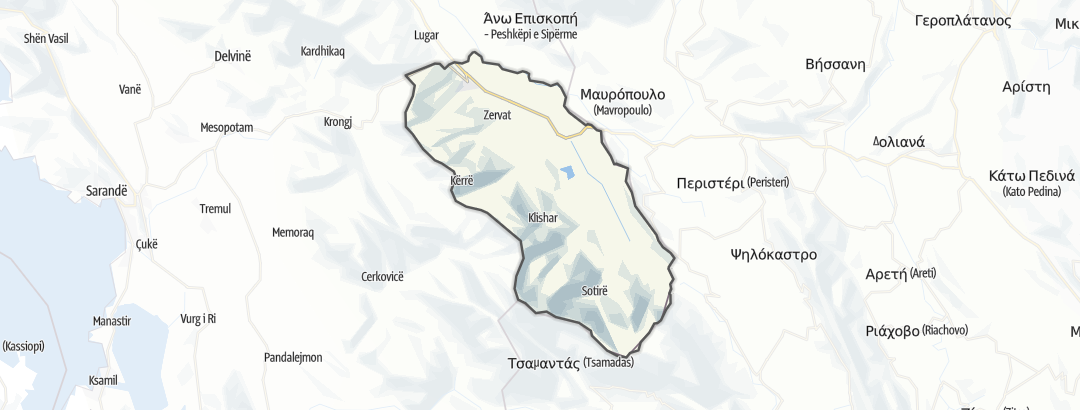 Map / Dropull i Siperm