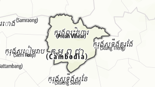 מפה / Preah Vihear