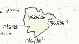 Hartă / Preah Vihear