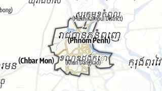 Hartă / Phnom Penh