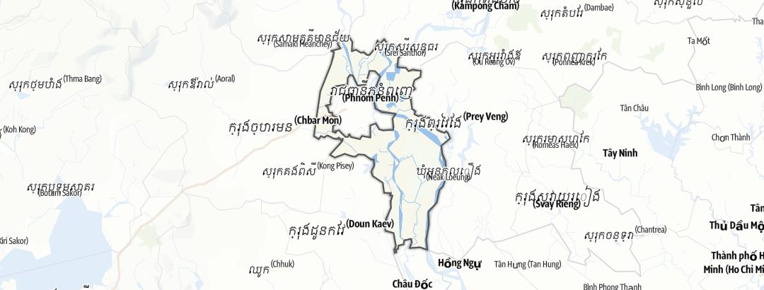 Karte / Kandal