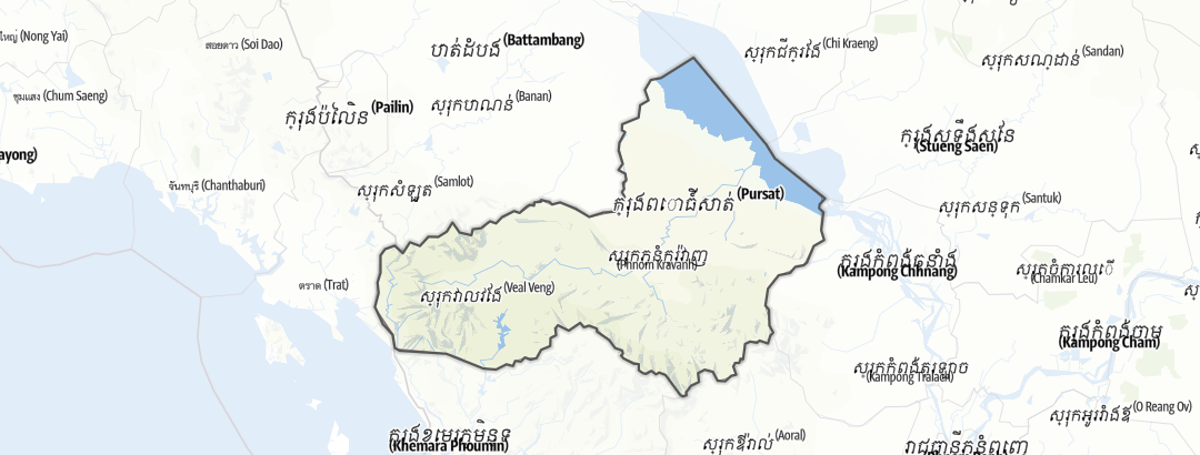 Térkép / Pursat