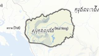 Карта / Veal Veaeng