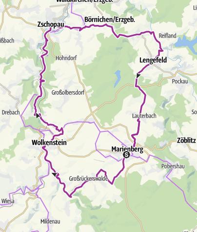 Karte / Tour 14 - Schlössertour