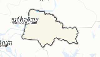 Hartă / Tboung Khmum