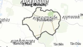 Карта / Ponhea Kraek