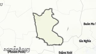 מפה / Kratie