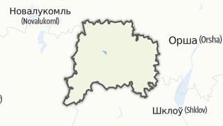 מפה / Talacyn Rajon