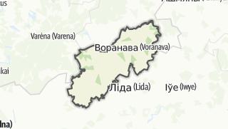 מפה / Voranava Rajon