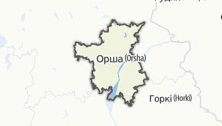 מפה / Orsa Rajon