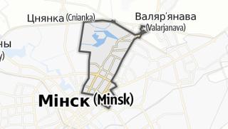 מפה / Saviecki Rajon