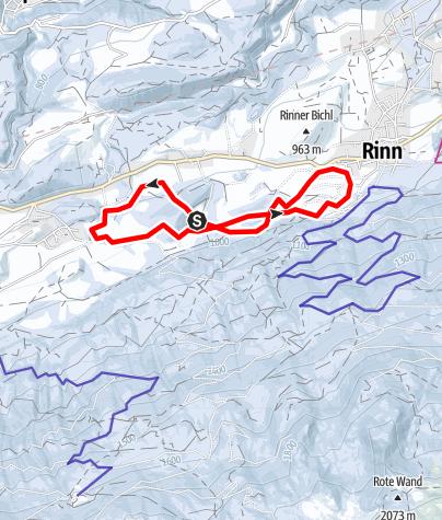 Karte / Tulfes - Golf Loipe 2