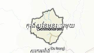 Mapa / Saen Monourom