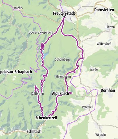 Map / Flößer & Brauer - Tour